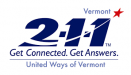 logo for Vermont 211